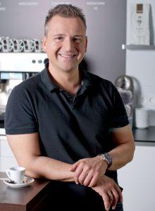 Experte für Kaffeesysteme Heiko Trisl