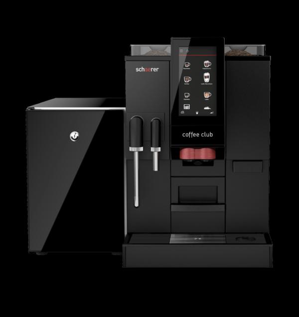 Kaffeevollautomat Schaerer Coffee Club: hoher Komfort, smarte Technik